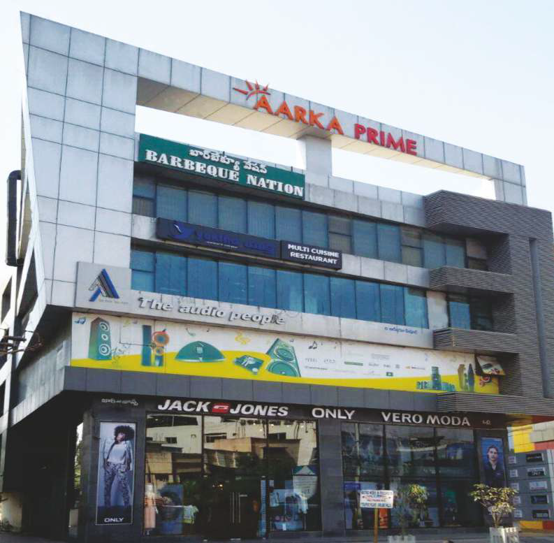 Aarka Prime, a hub of business and trade